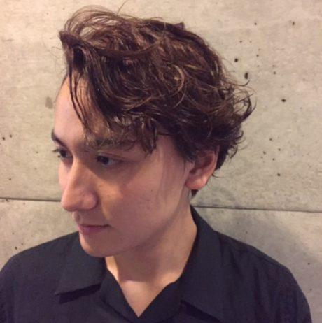 パーマ mens メンズヘア