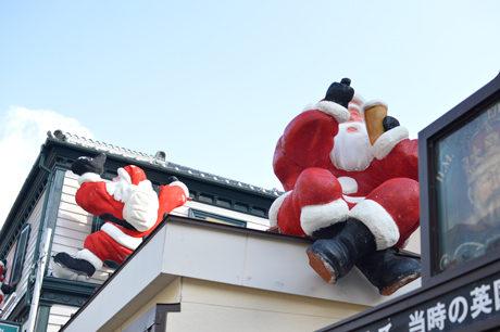 神戸 北野 サンタクロース