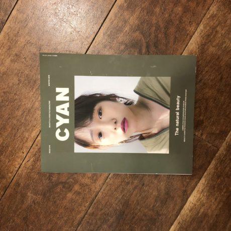 今とにかくオシャレな雑誌【CYAN】に掲載して頂きました。