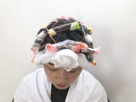 前髪ボリューム